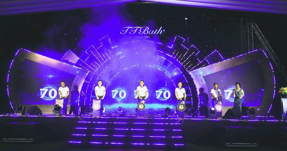 Kỷ niệm 70 năm thành lập và thay đổi nhận diện thương hiệu sứ Thiên Thanh