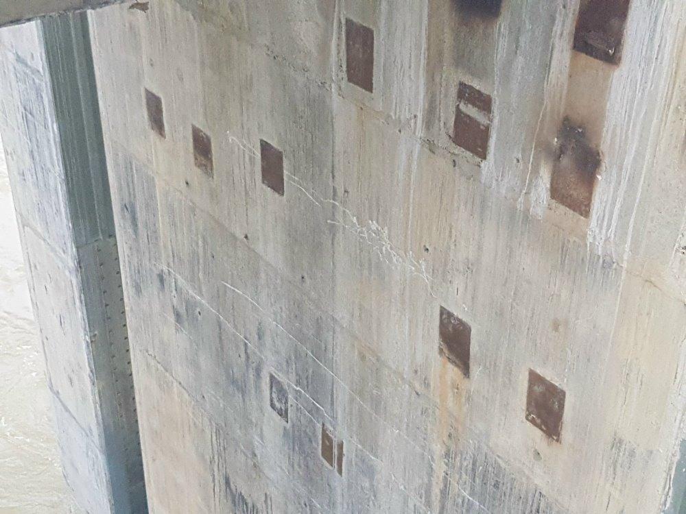 Tuyên Quang: Xuất hiện nhiều vết nứt trên công trình thủy điện Sông Lô 8B