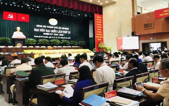 Đại hội đại biểu Đảng bộ Thành phố Hồ Chí Minh lần thứ XI nhiệm kỳ 2020 – 2025 họp phiên trù bị
