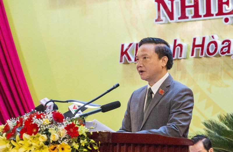 Đồng chí Nguyễn Khắc Định tái đắc cử Bí thư Tỉnh ủy Khánh Hòa nhiệm kỳ 2020 - 2025