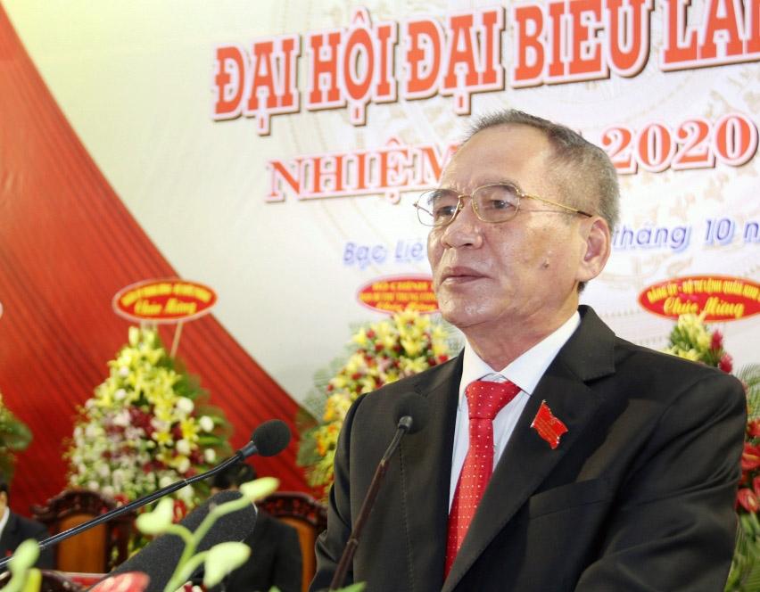 Đồng chí Lữ Văn Hùng tái đắc cử Bí thư Tỉnh ủy Bạc Liêu nhiệm kỳ 2020 - 2025