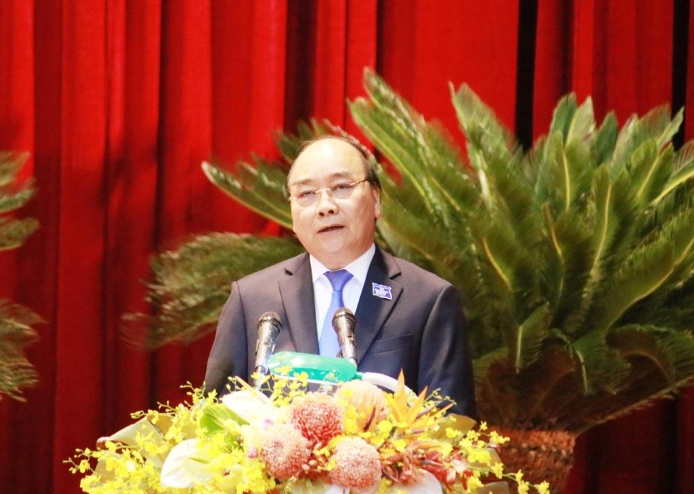 Thủ tướng Nguyễn Xuân Phúc tham dự và chỉ đạo Đại hội Đảng bộ tỉnh Nghệ An lần thứ XIX