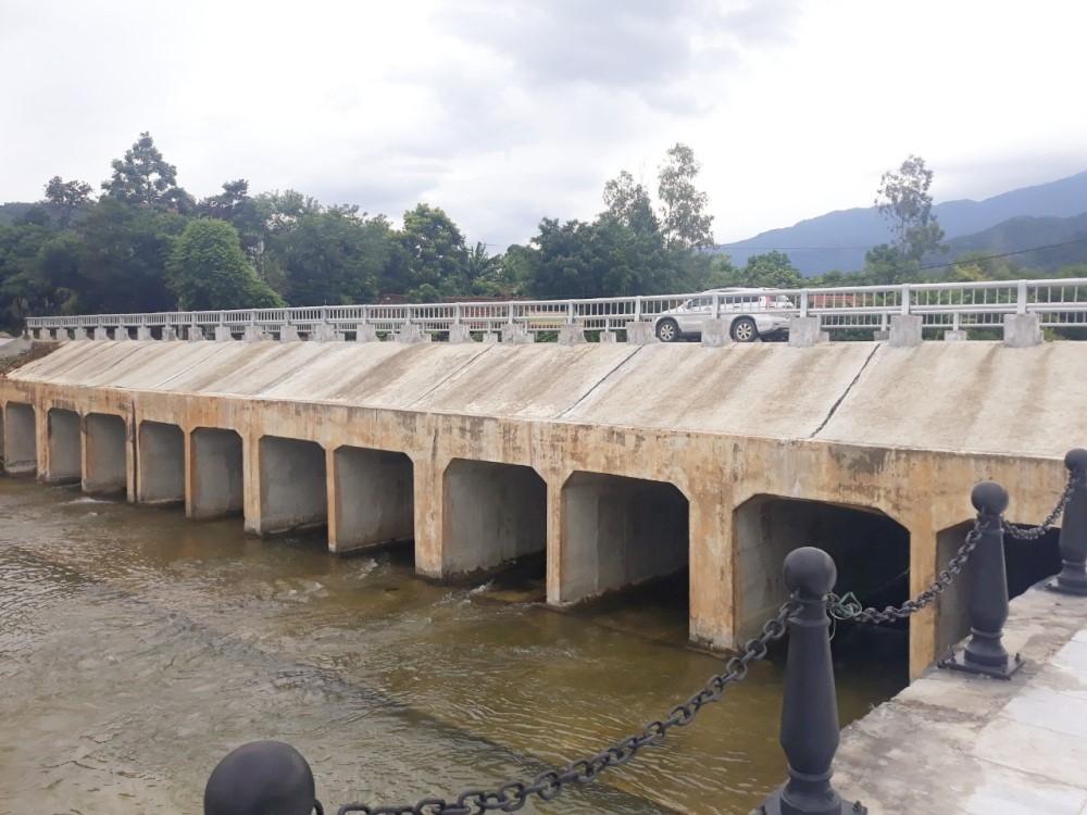 Vĩnh Phúc: Đảm bảo chất lượng công trình kè suối Thõng khu vực Tây Thiên, khu danh thắng Tây Thiên