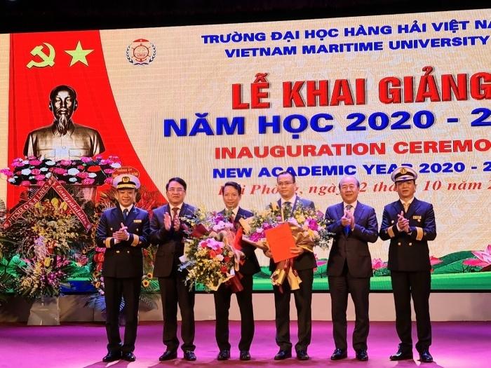Đại học Hàng hải Việt Nam có 2 Phó Hiệu trưởng mới