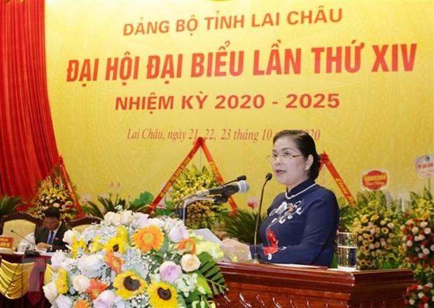 Bà Giàng Páo Mỷ tiếp tục giữ chức Bí thư Tỉnh ủy Lai Châu