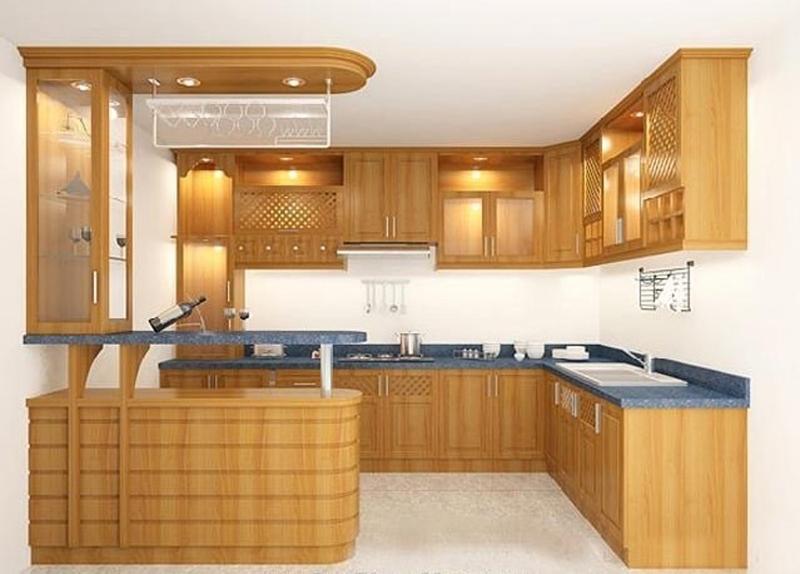Những ưu, nhược điểm của các loại tủ bếp phổ biến hiện nay