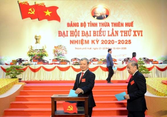 Đồng chí Lê Trường Lưu tái đắc cử Bí thư Tỉnh ủy Thừa Thiên – Huế