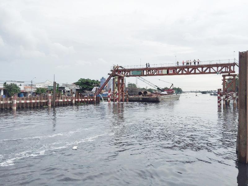 Thành phố Hồ Chí Minh: Đẩy nhanh tiến độ các công trình thủy lợi
