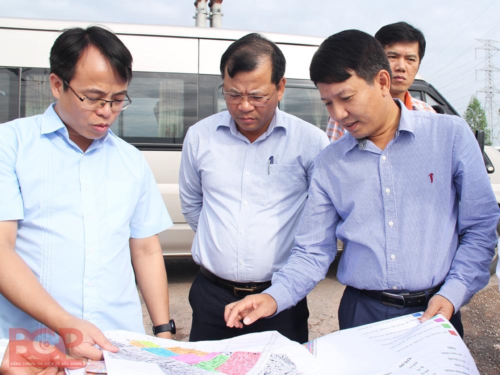 Bắc Giang: Đẩy nhanh tiến độ bồi thường giải phóng mặt bằng Khu công nghiệp Quang Châu