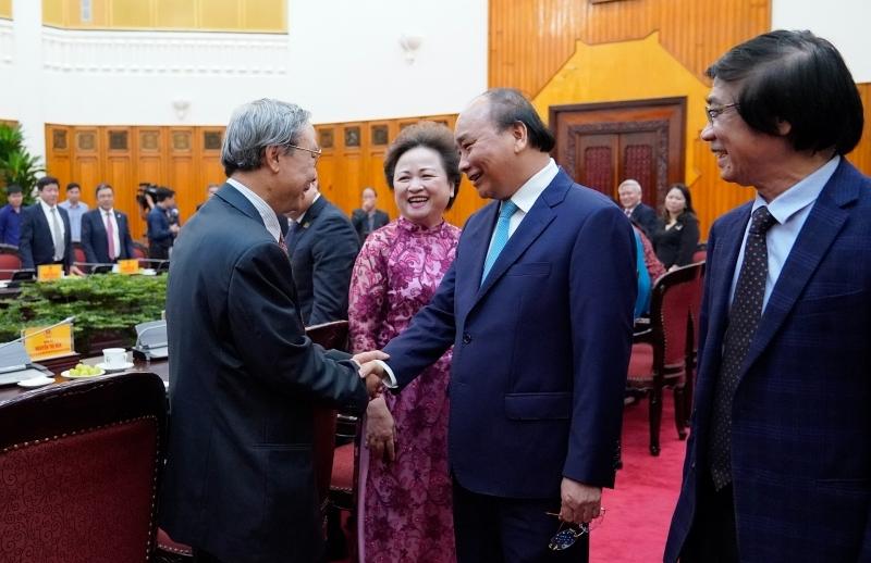 Thủ tướng Nguyễn Xuân Phúc gặp mặt Hội Quy hoạch phát triển đô thị Việt Nam
