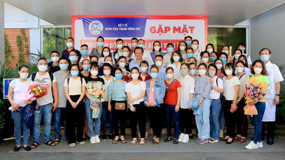 Thừa Thiên - Huế: Tăng cường 50 nhân viên y tế hỗ trợ Thành phố Hồ Chí Minh chống dịch Covid-19