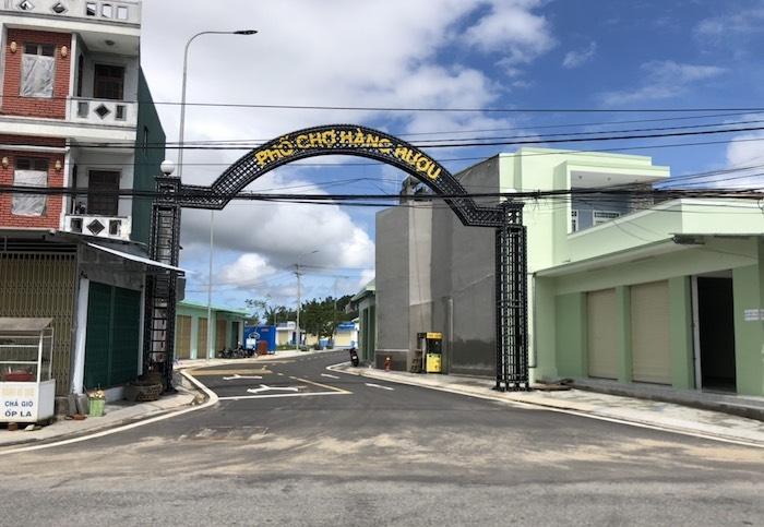 Quảng Ngãi: Xây dựng trái phép trong Khu đô thị mới Chợ Hàng Rượu