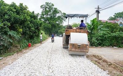 Thái Nguyên: Tạo cơ chế đặc thù xây dựng hạ tầng nông thôn mới