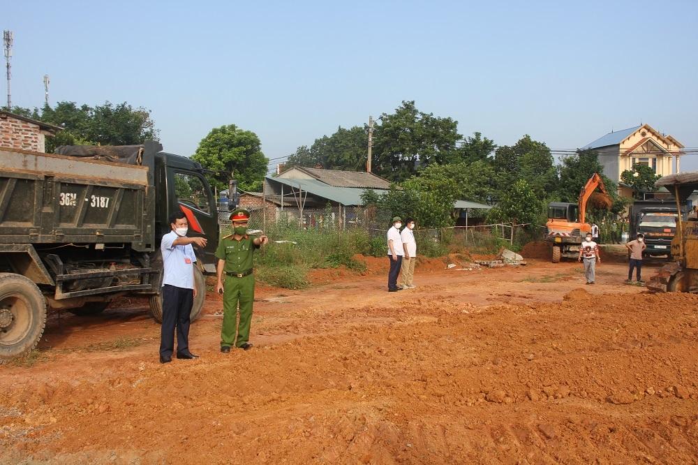 Vĩnh Phúc: Cưỡng chế thu hồi đất thực hiện dự án Đường vành đai phía Đông huyện lỵ Tam Đảo