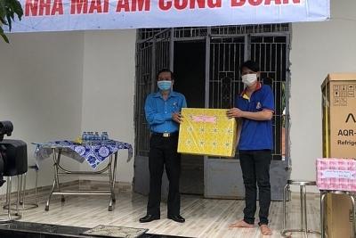 """Tây Ninh: Bàn giao """"Mái ấm công đoàn"""" cho đoàn viên có hoàn cảnh khó khăn"""