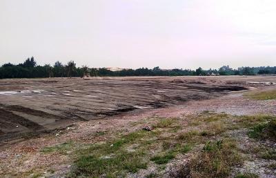 """Câu lạc bộ bóng đá Hải Phòng bị """"tuýt còi"""" về hành vi san lấp đất bãi bồi, nuôi trồng thủy sản làm sân tập bóng đá"""