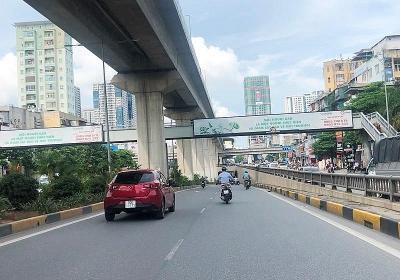 Hà Nội: Hơn 3,8 tỷ đồng xây cầu vượt đi bộ trên đường Nguyễn Trãi