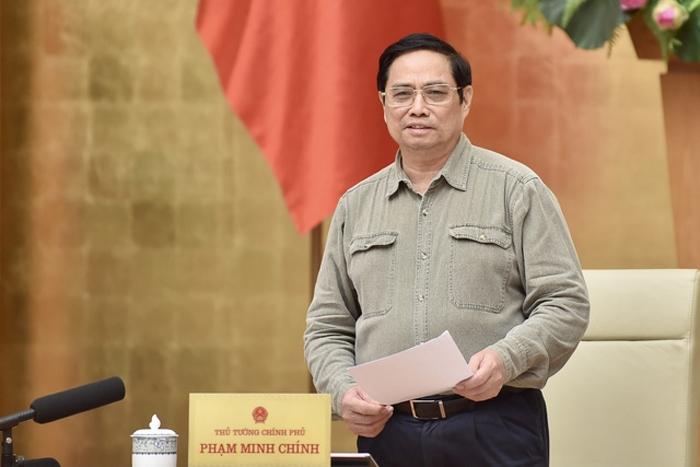 Thủ tướng Phạm Minh Chính: Đổi mới tư duy và biện pháp phòng, chống dịch phù hợp với tình hình