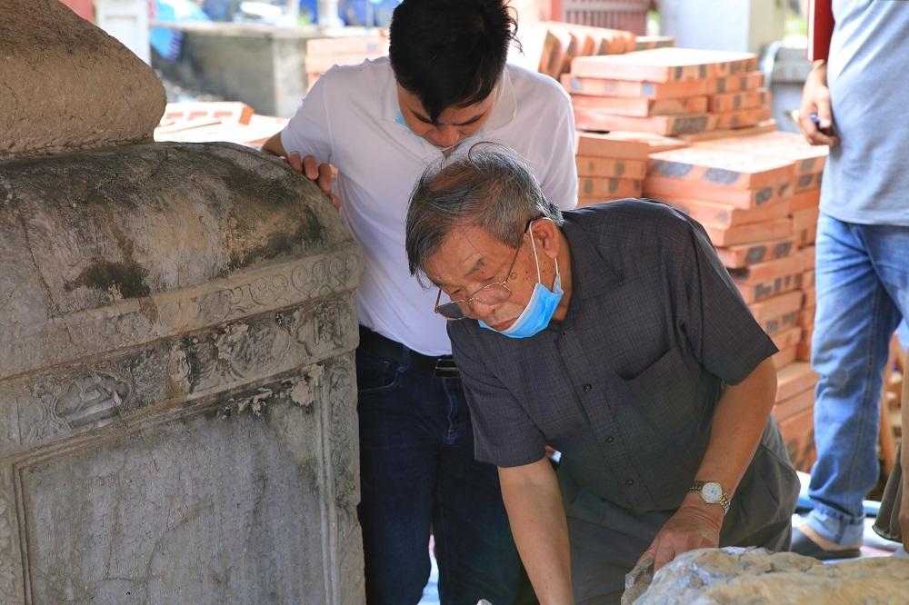 Bắc Giang: Khôi phục bia đá chùa Thổ Hà cần sự phối hợp chặt chẽ