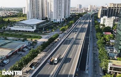 Lắp vách chống ồn dọc tuyến đường trên cao đẹp nhất Hà Nội