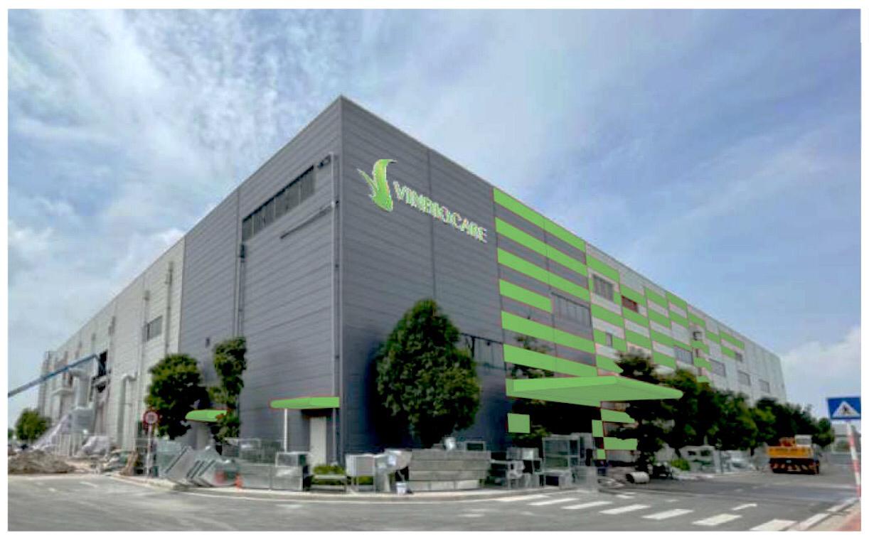 VNCC thiết kế nhà máy sản xuất vaccine Vin Biocare thuộc Tập đoàn VinGroup