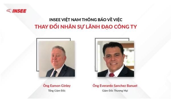 Ông Eamon Ginley là Tổng Giám đốc của Xi măng INSEE Việt Nam từ 1/10/2021