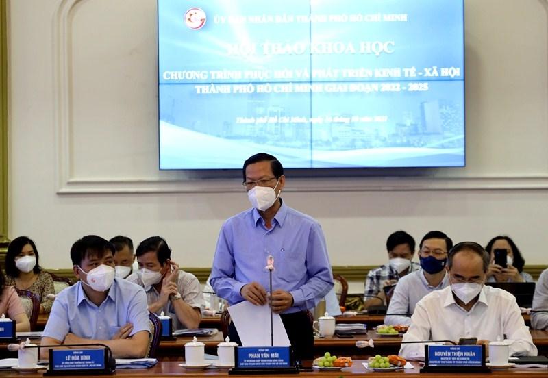 Hội thảo khoa học để tìm phương án phát triển kinh tế - xã hội Thành phố Hồ Chí Minh
