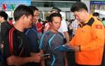 9 thuyền viên tàu cá Bình Thuận mất tích đã về Việt Nam an toàn