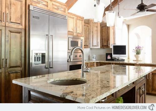 132427baoxaydung image001 Gợi ý thiết kế đảo bếp với đá granite tuyệt đẹp