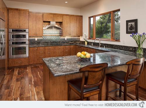 132428baoxaydung image008 Gợi ý thiết kế đảo bếp với đá granite tuyệt đẹp