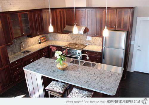 132428baoxaydung image010 Gợi ý thiết kế đảo bếp với đá granite tuyệt đẹp