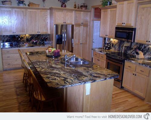 132428baoxaydung image011 Gợi ý thiết kế đảo bếp với đá granite tuyệt đẹp