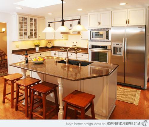 132428baoxaydung image012 Gợi ý thiết kế đảo bếp với đá granite tuyệt đẹp