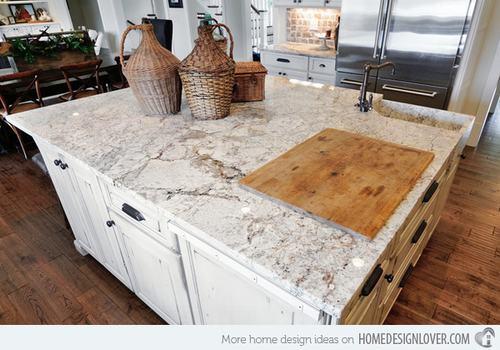 132428baoxaydung image013 Gợi ý thiết kế đảo bếp với đá granite tuyệt đẹp
