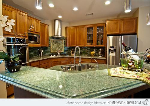 132428baoxaydung image015 Gợi ý thiết kế đảo bếp với đá granite tuyệt đẹp