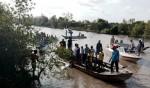Tìm thấy thi thể tài công vụ canô lao vào trụ cầu vỡ đôi