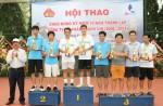 Gần 300 VĐV tham dự hội thao kỷ niệm 10 năm thành lập Công ty Thành Chí