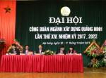 Đại hội Công đoàn ngành Xây dựng Quảng Ninh nhiệm kỳ XIV thành công tốt đẹp
