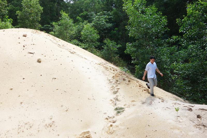 Những bãi cát bí ẩn.