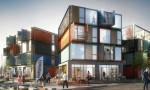 Tòa căn hộ phức hợp tạo thành từ 48 container