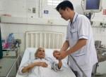 Cụ ông 93 tuổi được can thiệp tim mạch thành công