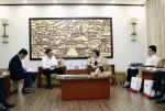 Thứ trưởng Phan Thị Mỹ Linh tiếp Chủ tịch Tập đoàn BCI Media Group Matthias Krups