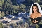 Nhà 60 triệu USD của Kim Kardashian trong khu vực cháy