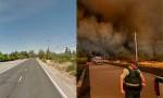 California trước và sau thảm họa cháy rừng