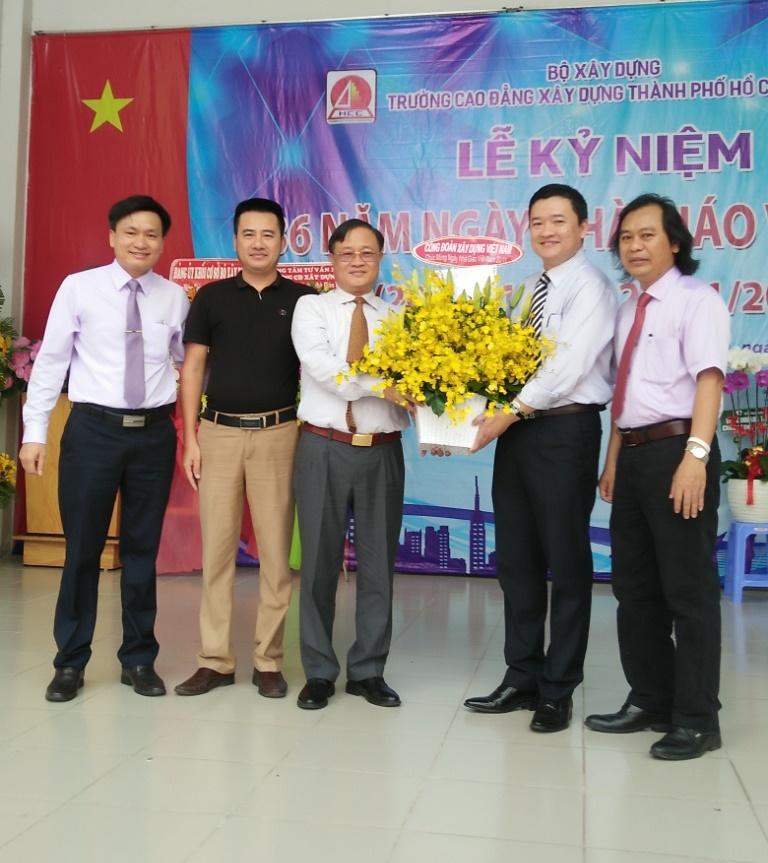 CĐXDVN chúc mừng các trường trực thuộc Bộ Xây dựng khu vực phía Nam