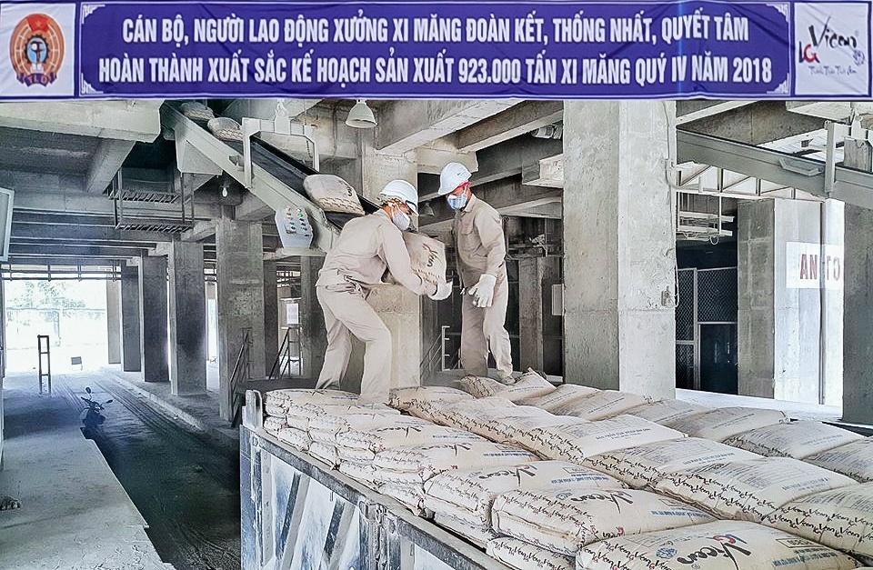 Cty Xi măng Vicem Bỉm Sơn: Thi đua hoàn thành mục tiêu sản xuất kinh doanh năm 2018