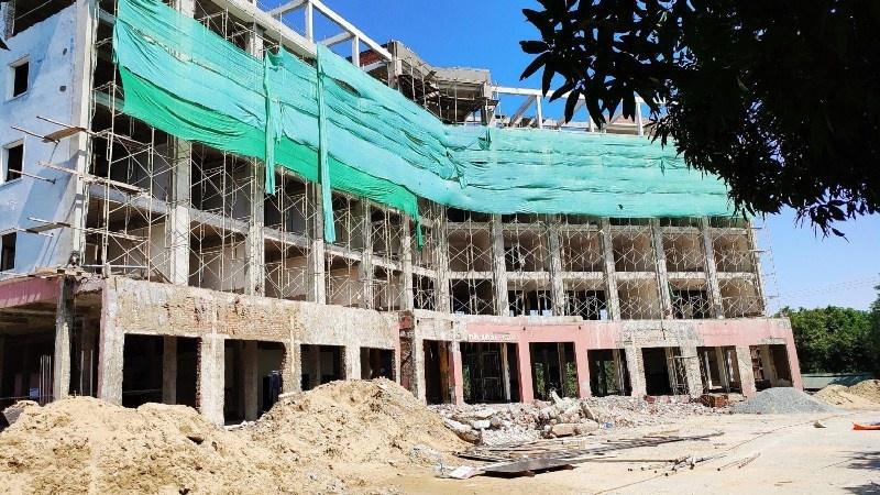 Hà Tĩnh: Khách sạn sinh thái thay đổi thiết kế, nâng tầng không xin phép