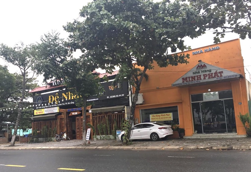Đà Nẵng: Kiểm soát chặt việc xây dựng công trình nhà hàng, quán tạm