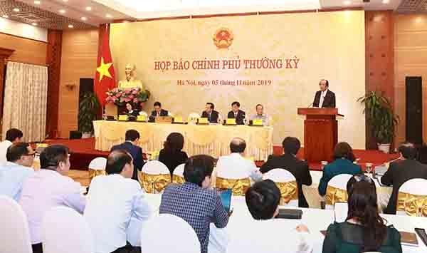 noi dung hop bao chinh phu thuong ky thang 102019