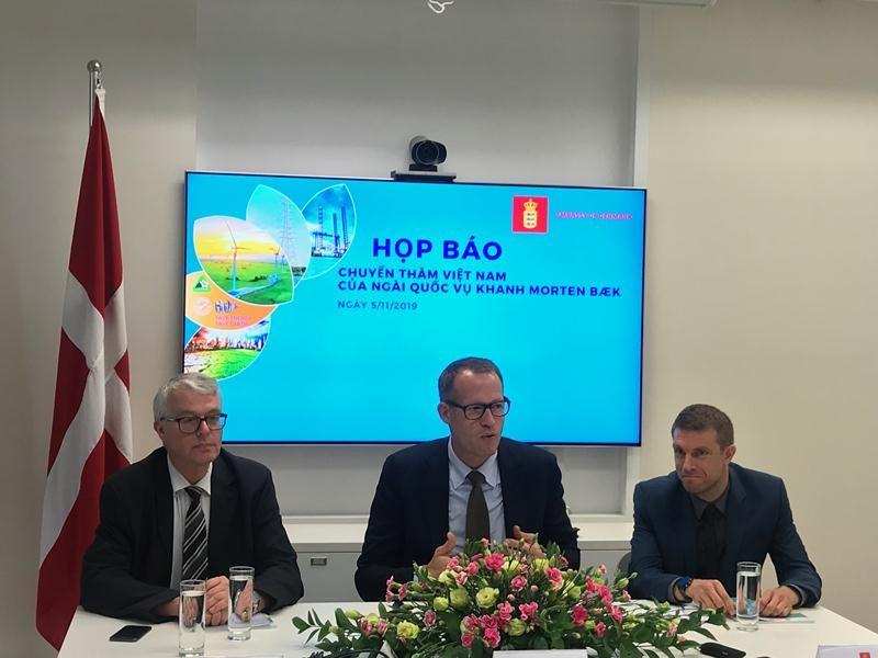 Việt Nam - Đan Mạch thúc đẩy hợp tác trong lĩnh vực năng lượng